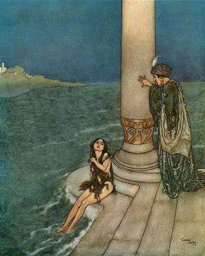 Edmund_Dulac_The_Mermaid_-_The_Prince