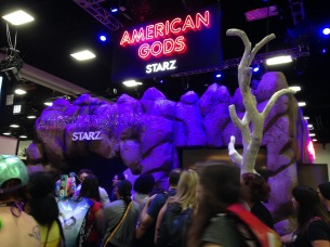 The highly anticipated American Gods television series.