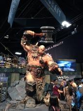 Warcraft booth.