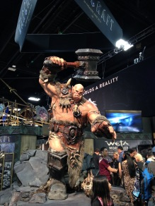 Warcraft booth.